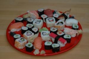 aus was besteht sushi